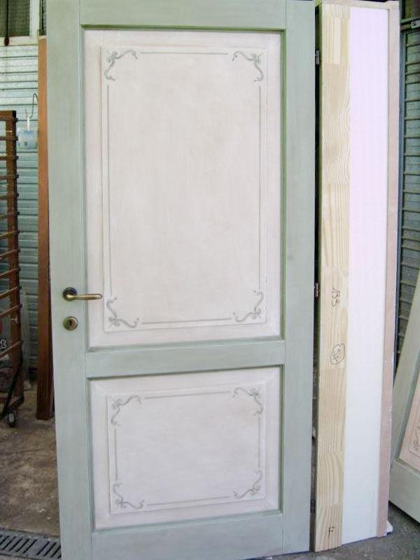 Porta decorata mod. virginia